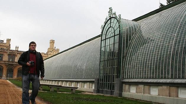 Palmový skleník v sousedství zámku patří mezi největší zimní turistická lákadla Lednice.