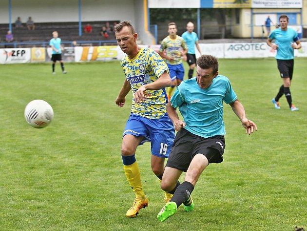 Petr Musil v novém dresu MSK Břeclav.
