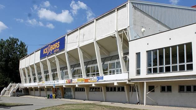 Zimní stadion v Břeclavi. Ilustrační foto.