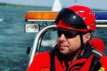 Lukáš Jurenka působí jako velitel sboru dobrovolných hasičů ve Valticích.