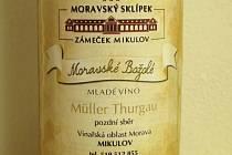 Etikety pro mladá vína ročníku 2013 jsou hotové. Takto vypadá ta pro Moravské božolé.