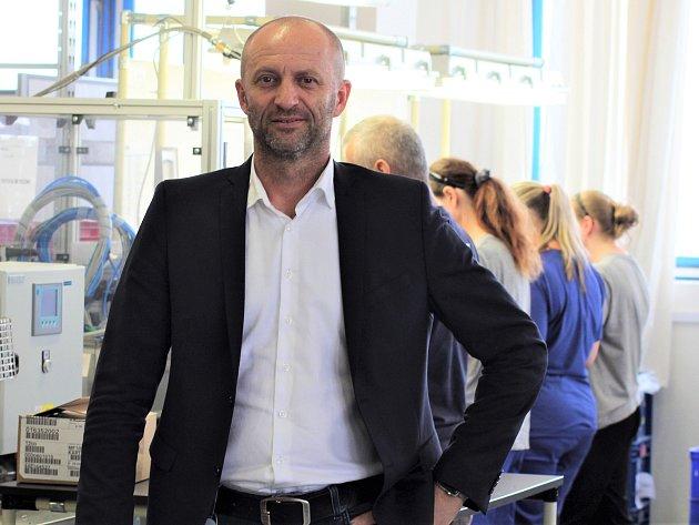 Ředitel skupiny Gumotex Auto Miroslav Jaššo.