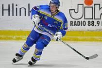 Hokejista HC Břeclav Radek Zháňal.
