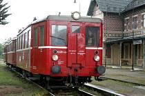 Historický motorový vlak Hurvínek