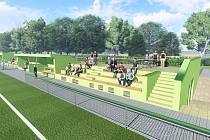 Rozsáhlou rekonstrukci hřiště chystá valtický fotbalový klub. Na opravy má přislíbenou dotaci od státu.