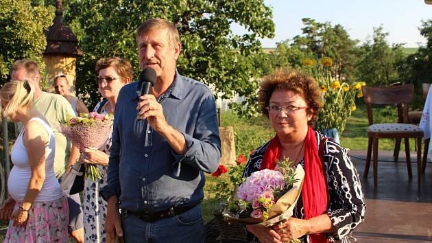 Výstavu k výročí Dany Medřické zahájil Václav Vydra