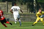 Divizní derby mezi Lanžhotem a Hodonínem skončilo bez branek.