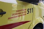 Břeclavští záchranáři se připojili ke Dni linky 155. Lidem představili základnu a pověděli o své činnosti.
