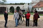 Areál Nového Dvora u Břeclavi navštívil štáb německé televize z Lipska. Cíl? Natočit tam záběry pro připravovaný dokument francousko-německého satelitního kanálu Arte.