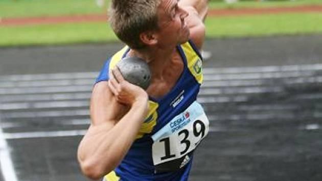 Břeclavský atlet Adam Formánek.