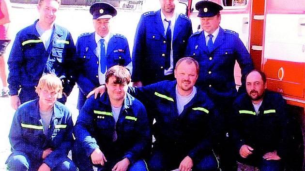 Dobrovolní hasiči z Přítluky
