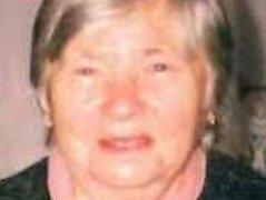 Pohřešovaná Milada Němcová.