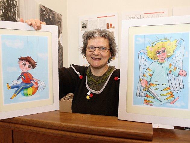 Ledničanka Maria Lehocká našla zálibu v kresbách.