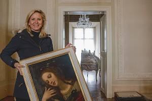 Valtický zámek má nový prohlídkový okruh. Knížecí byt: Apartmán Františka I. z Lichtenštejnu. Byl to poslední kníže, který na zámku bydlel.