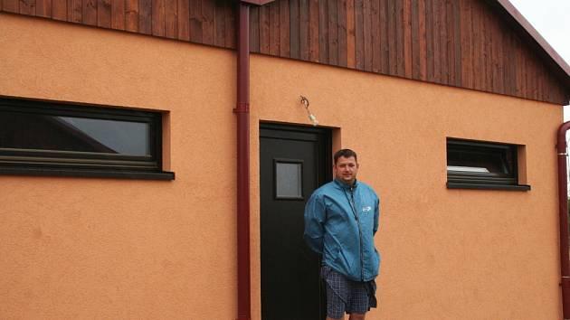 Nové byty v Němčičkách.