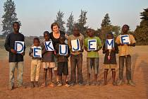 Jednadvacetiletá rodačka z Velkých Hostěrádek Markéta Lengálová strávila rok jako dobrovolnice v africkém Kongu.
