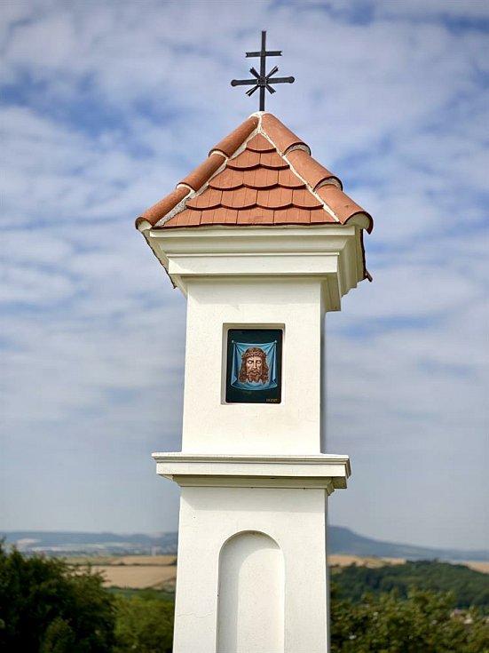 Boží muka v hustopečských Nových sadech už jsou zrekonstruovaná.