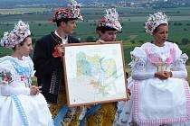 Křest první apelační mapy vinařských tratí ve Velkých Bílovicích.