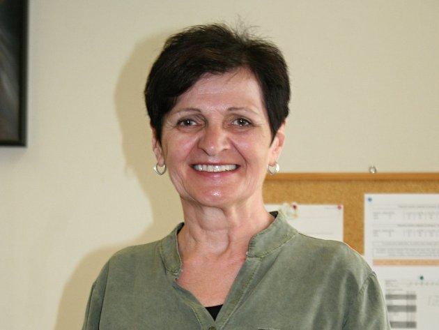 Jana Vrzalíková, režisérka ochotnického souboru Břetislav z Břeclavi.