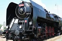 Parní lokomotiva Šlechtična.