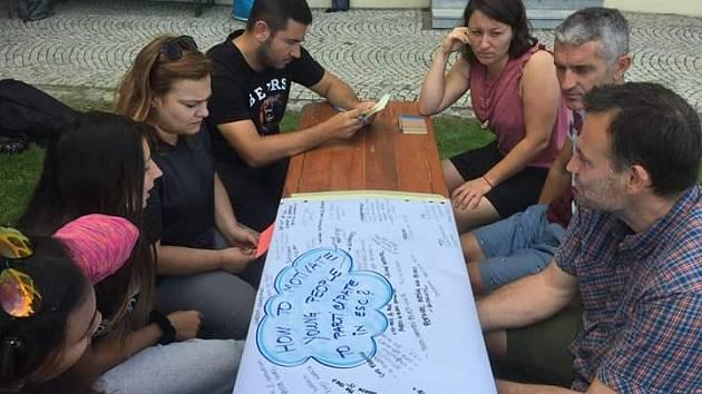 V Trkmance se školili dobrovolníci z celé Evropy