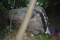 Tragická dopravní nehoda na silnici mezi Mikulovem a Milovicemi