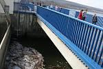 Povodí Moravy otevřelo veřejnosti zařízení Vodního díla Nové Mlýny.