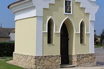 Vrbičtí opravili kapličku svaté Anny