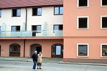 Domov důchodců ve Vranovicích.