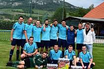 Vítězem Vyřazovacího fotbalového turnaje Podpálaví se stali hráči Popic.