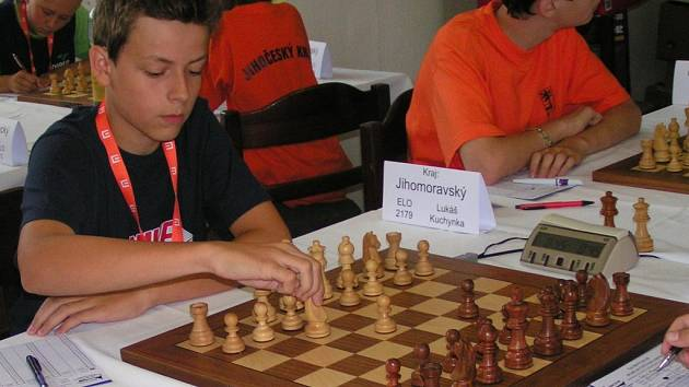 Lukáš Kuchynka nemá v patnácti letech konkurenci ani mezi mnohem zkušenějšími kolegy.