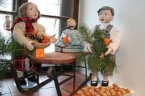 Vánoční výstava ve Valticích.