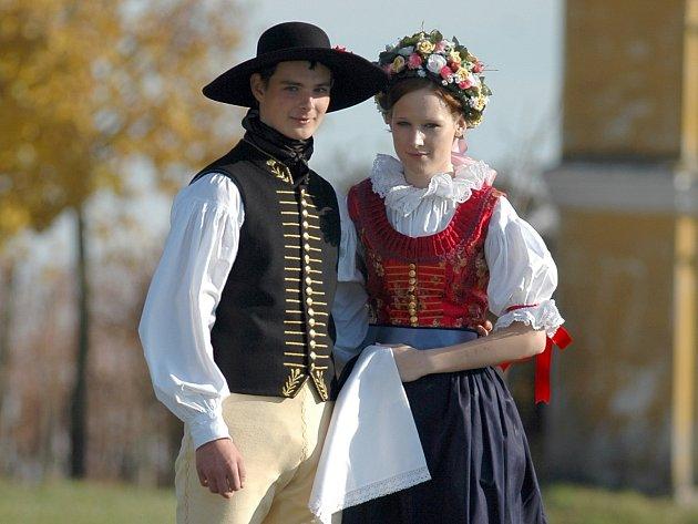 Vranovičtí nyní mají pouze jeden pár originálního kroje jejich regionu.