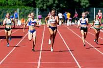 Břeclavská Lokomotiva hostila třetí kolo první ligy atletických družstev. a