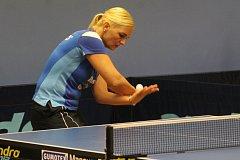 Stolní tenistky MSK Břeclav se střetly s Moravským Krumlovem.