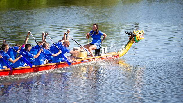 Již dvanáctý ročník závodu dračích lodí pořádá SVK Břeclav ve spolupráci s Torrsen sports 11. září.