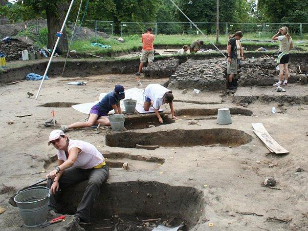 Archeologická památková rezervace na Pohansku u Břeclavi - ilustrační foto.