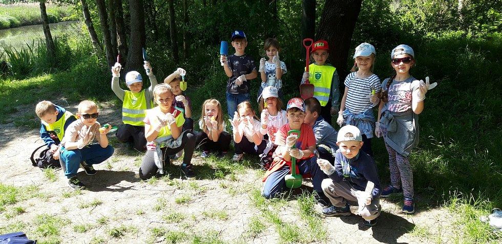 Všechny děti v Mateřské škole Lanžhot se s chutí zapojily do aktivit.