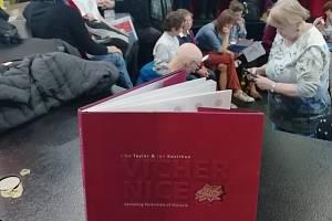 Víchernice obdivovali lidé na mezinárodním knižním veletrhu v německém Lipsku.