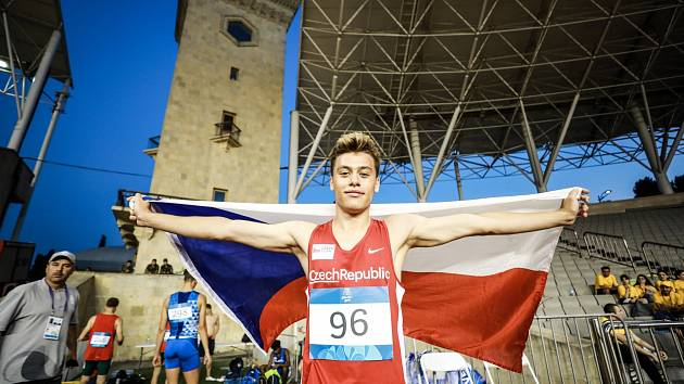 V Břeclavi by měl startovat také Tomáš Oberndorfer, stříbrný medailista z Evropského olympijského festivalu mládeže.