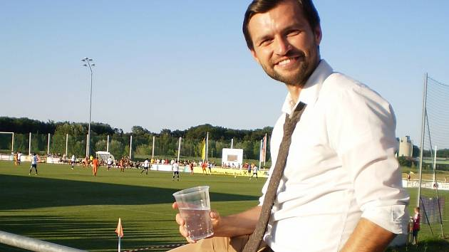 Jan Lokaj pracuje už čtyři roky jako průvodce zahraničních týmů. Vozí je i na Břeclavsko.