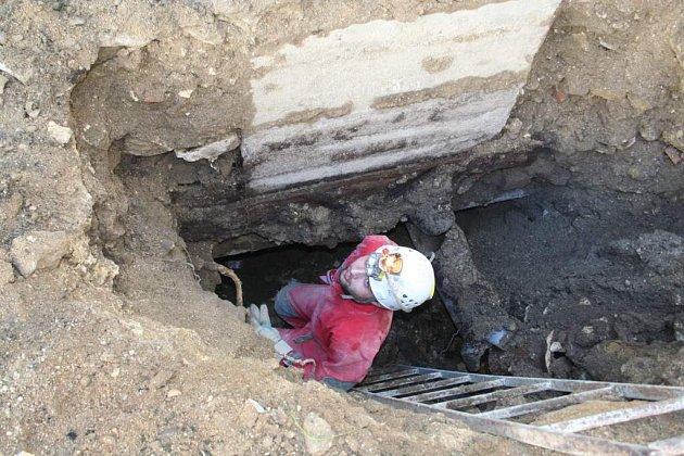nově objevená jeskyně