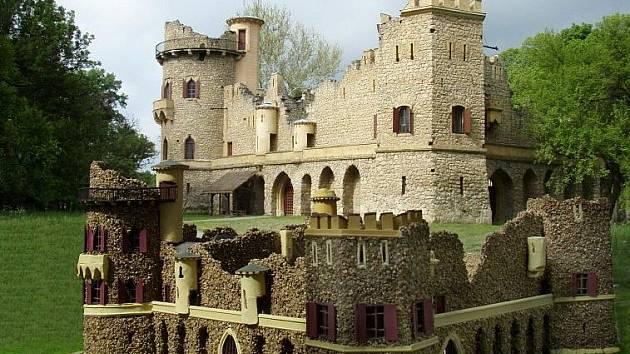 Miniatura Janova hradu. Ilustrační fotografie.