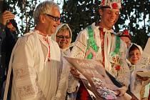 Křest kalendáře se uskutečnil v sobotu večer v Moravské Nové Vsi.