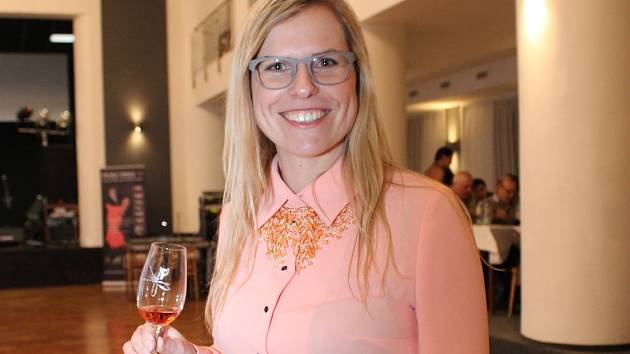 Kateřina Černá je jednou z pěti žen, které uspořádali první čistě ženskou degustaci vín v republice.