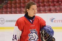 Sára Čajanová je novou posilou břeclavských hokejistek.