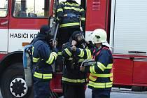 Kobylští dobrovolní hasiči.