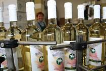 Společnost Vinné sklepy Valtice začala s lahvováním Svatomartinského vína.