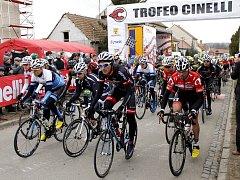Hlohovec se stal v sobotu centrem silniční cyklistiky v Česku.