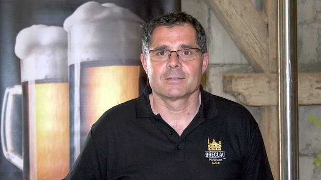 Ředitel Zámeckého pivovaru v Břeclavi Aleš Hofman.